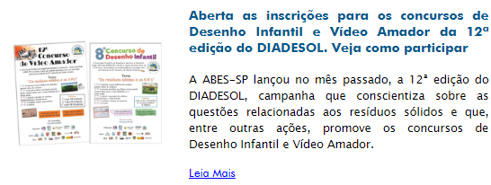 aberta as inscricoes para os concursos